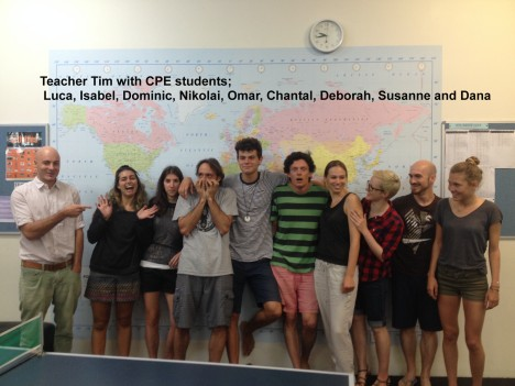 Tim and CPE class