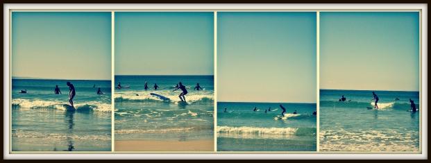 Surfing prac