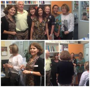 Annette, Phil, Anne, Eileen, Michelle, Suzie and Nina